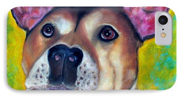 Woof Woof Phone Case by Laura  Grisham