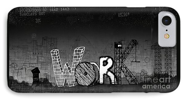 Work IPhone Case by Andy  Mercer