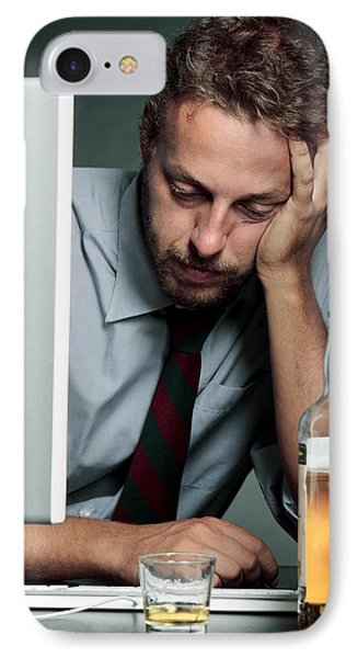 Work Stress Phone Case by Mauro Fermariello