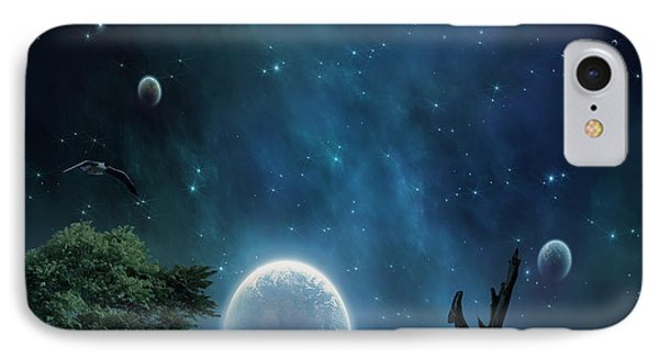 World Beyond IPhone Case by Lourry Legarde