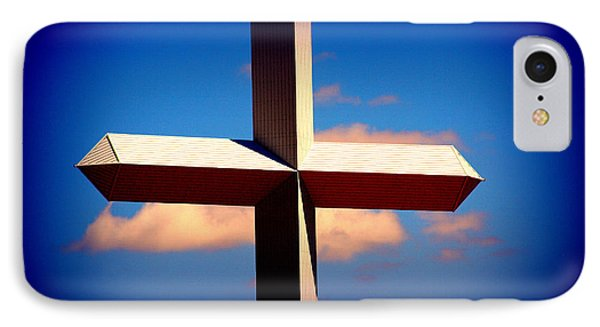 World Largest Cross In Illinois  Phone Case by Susanne Van Hulst