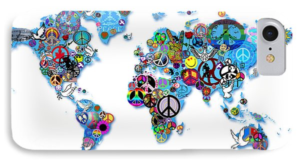 World Peace Phone Case by Bill Cannon