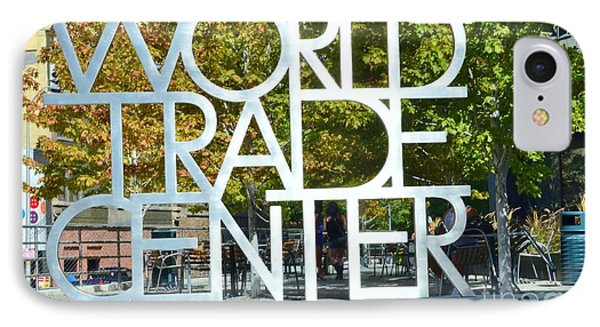 World Trade Center Phone Case by Kathleen Struckle