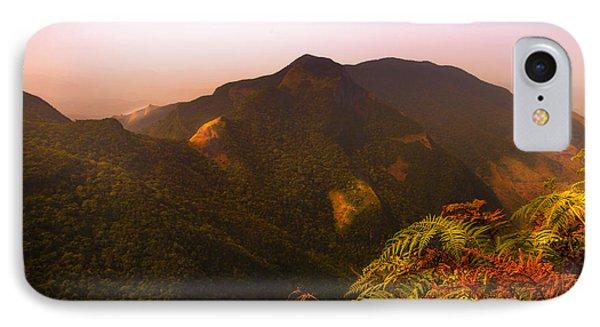 Worlds End. Horton Plains National Park I. Sri Lanka Phone Case by Jenny Rainbow