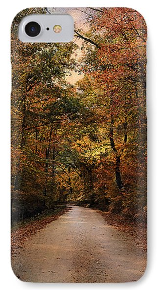 Wrapped In Autumn Phone Case by Jai Johnson