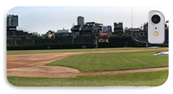 Wrigley Field Panorama Phone Case by David Bearden