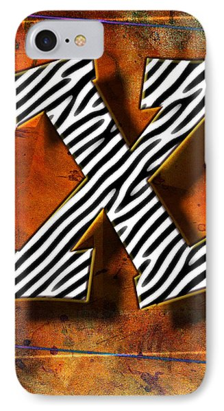 X Phone Case by Mauro Celotti