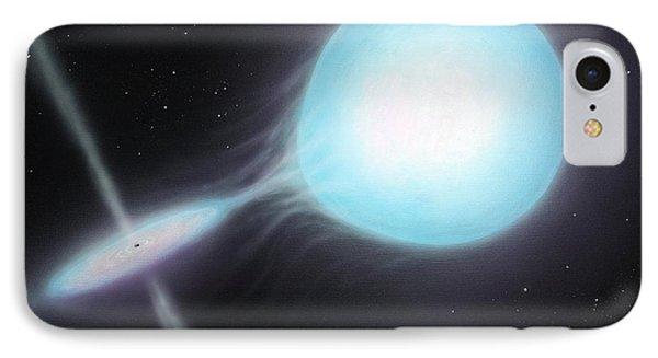 X-ray Binary, Artwork IPhone Case by Richard Bizley