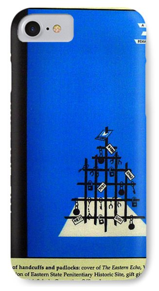 Xmas Cheer From The Inside IPhone Case by Richard Reeve