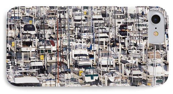 Yacht Marina Phone Case by Jeremy Woodhouse