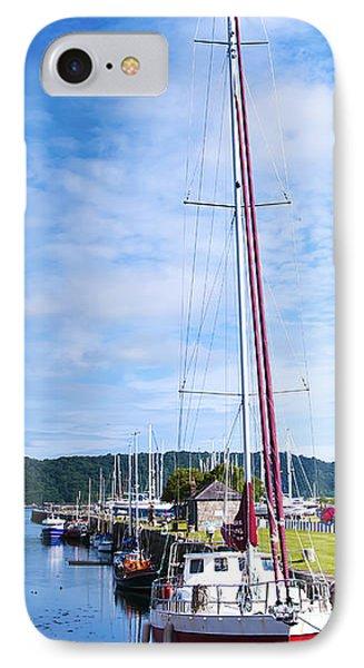 Yacht  Phone Case by Svetlana Sewell