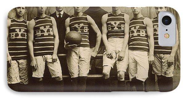 Yale Basketball Team, 1901 Phone Case by Granger
