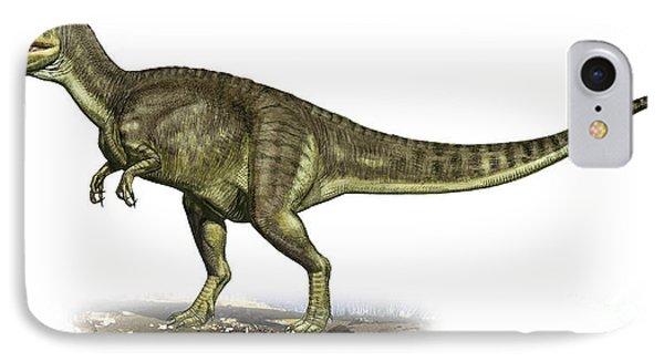 Yangchuanosaurus Shangiouensis Phone Case by Sergey Krasovskiy