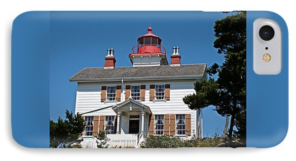 IPhone Case featuring the photograph Yaquina Bay Lighthouse by Nick Kloepping