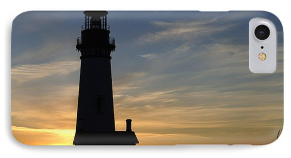 Yaquina Lighthouse Phone Case by Bob Christopher