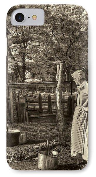 Yarn Dyeing Phone Case by Joann Vitali
