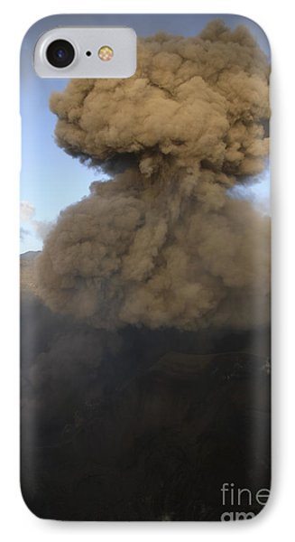 Yasur Eruption, Tanna Island, Vanuatu Phone Case by Martin Rietze