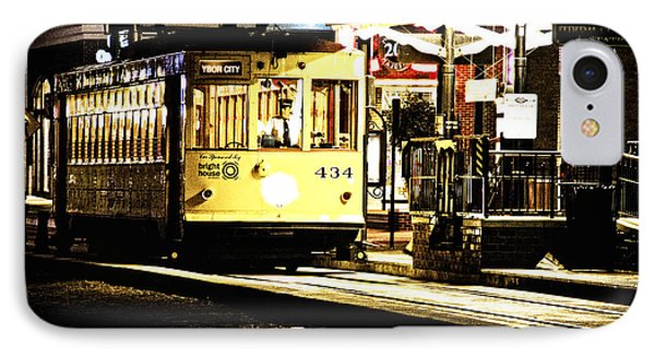 IPhone Case featuring the photograph Ybor Train by Angelique Olin