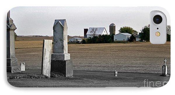 Ye Olde Farmstead IPhone Case by Sue Stefanowicz
