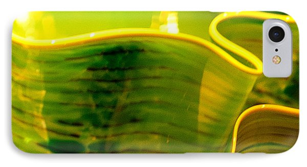 IPhone Case featuring the photograph Yellow And Green by Artist and Photographer Laura Wrede