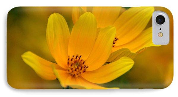 Yellow Blaze Phone Case by Marty Koch