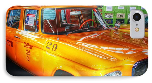 Yellow Cab No.29 IPhone Case by Dan Stone