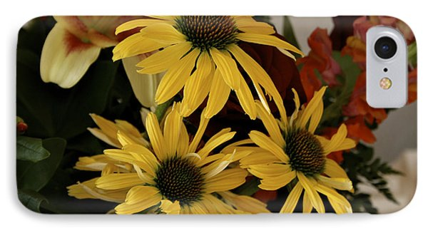 Yellow Daisies Phone Case by Richard Gregurich