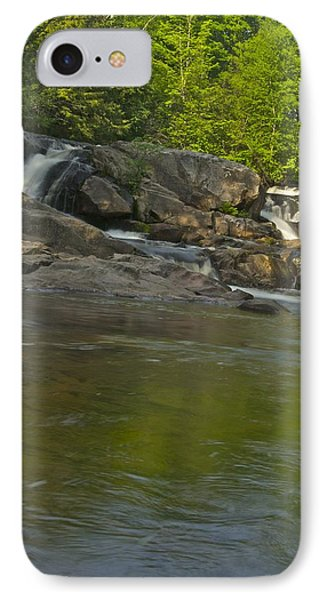 Yellow Dog Falls 4232 Phone Case by Michael Peychich