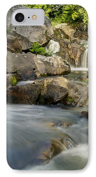 Yellow Dog Falls 4246 Phone Case by Michael Peychich