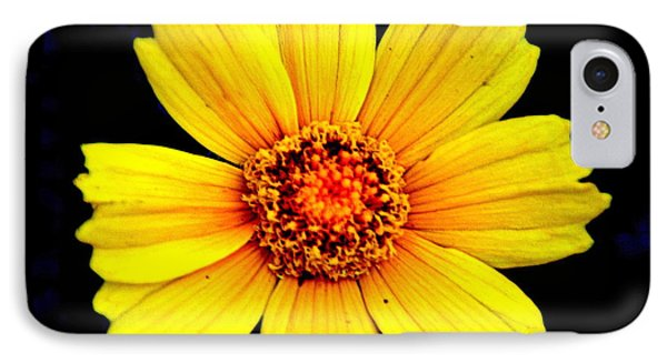 Yellow Flower Phone Case by Marty Koch