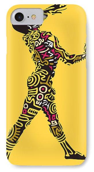Yellow Haring Phone Case by Kamoni Khem