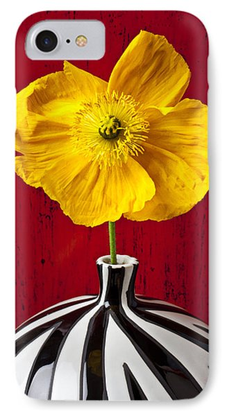 Yellow Iceland Poppy Phone Case by Garry Gay