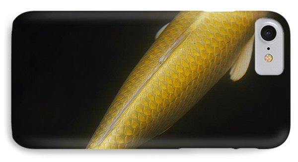 Yellow Koi Phone Case by Rebecca Cozart