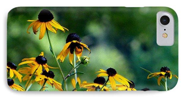 Yellow Petals IPhone Case by Elizabeth Coats