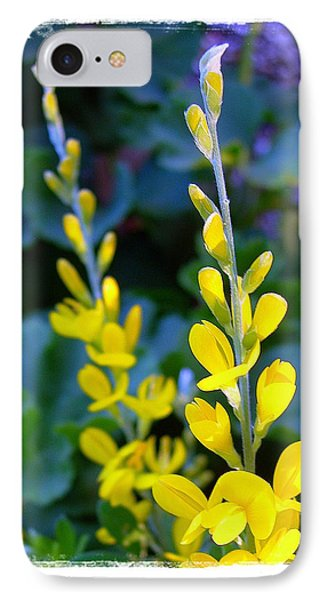 Yellow Plumes IPhone Case by Judi Bagwell