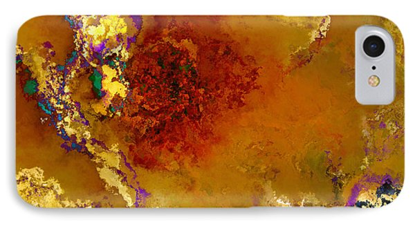 Yellow Rose Art Phone Case by Debbie Portwood