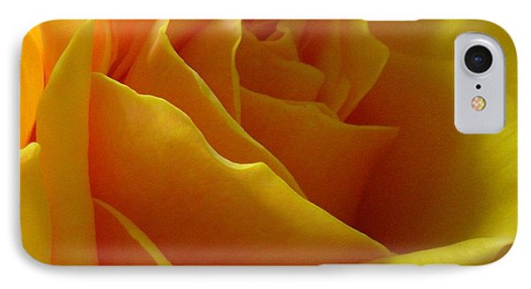 Yellow Rose Of Texas IPhone Case by Sandra Phryce-Jones