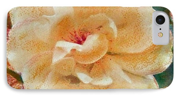 IPhone Case featuring the painting Yellow Rose by Richard James Digance
