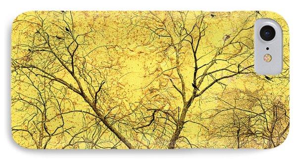 Yellow Wall Phone Case by Skip Nall