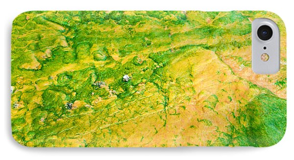 Yellowstone Abstract 1 Phone Case by Bob and Nancy Kendrick