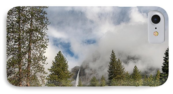 Yosemite Falls IPhone Case by Sharon Seaward