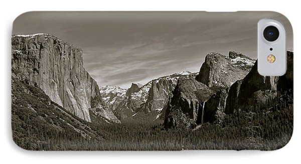 IPhone Case featuring the photograph Yosemite Valley by Eric Tressler