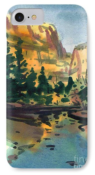 Yosemite Valley In January Phone Case by Donald Maier