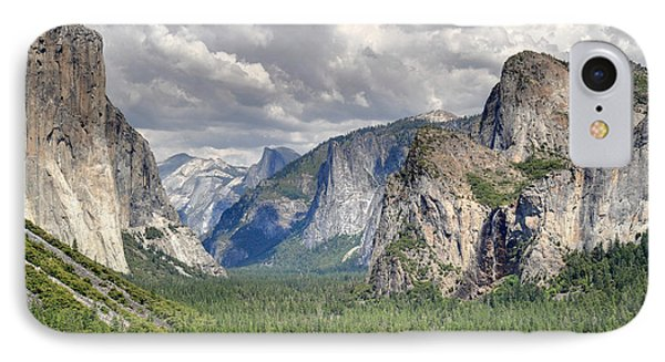 Yosemite Valley Phone Case by Pierre Leclerc Photography