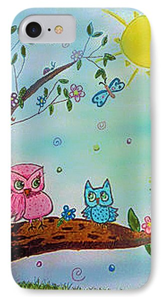 IPhone Case featuring the painting You Can Do It  by Elizabeth Coats