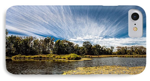 IPhone Case featuring the photograph You Cannot Be Cirrus by Tom Gort