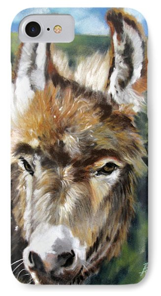 IPhone Case featuring the painting You Want To Pin The Tail On The What by Rae Andrews