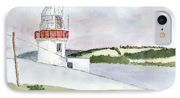 Youghal Lighthouse Phone Case by Eva Ason