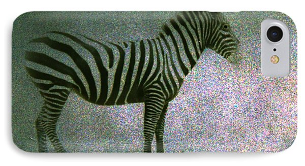 IPhone Case featuring the photograph Zebra by Kelly Hazel