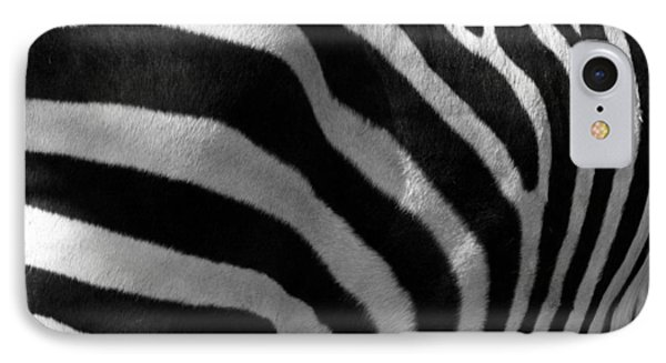 IPhone Case featuring the photograph Zebra Stripes by Cindy Haggerty